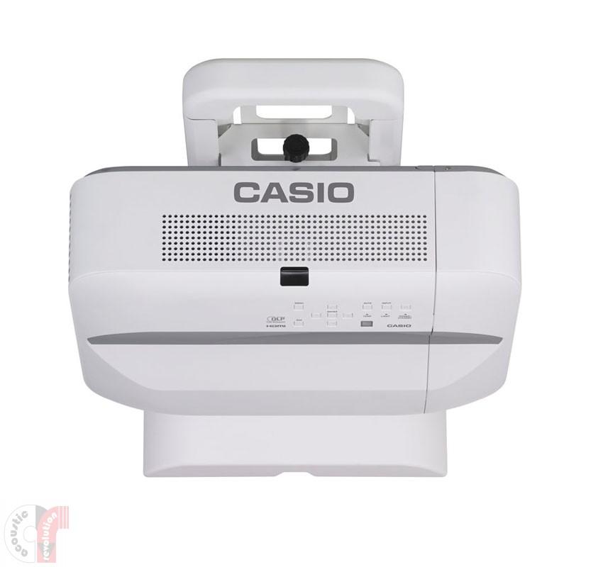 Casio XJ-UT351W+YM-81 LampFree Ultra Short-Throw Projector