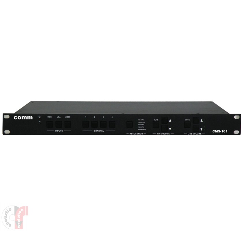 Comm Mixed Scaler Switcher  - CMS-101