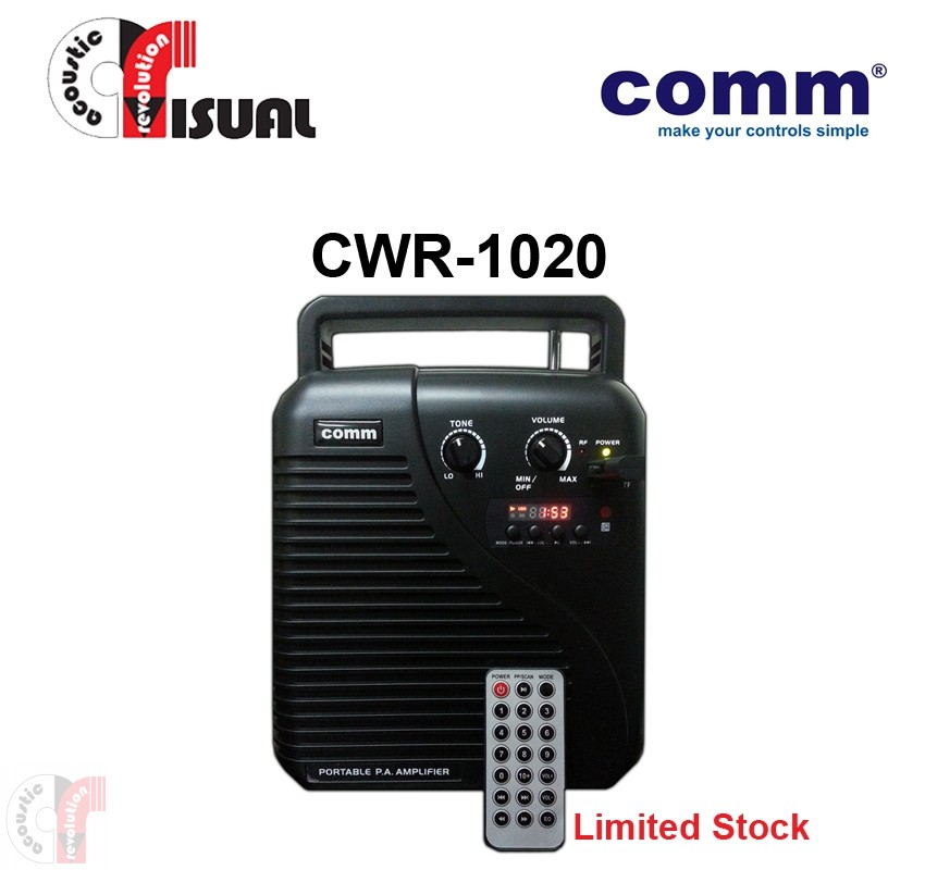 Comm Portable PA Amplifier - CWR-1020 (Special)
