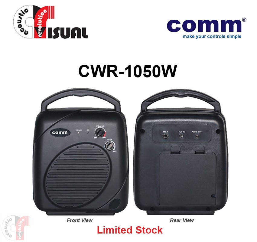 Comm Portable PA Amplifier - CWR-1050W+CW3-H (Special)