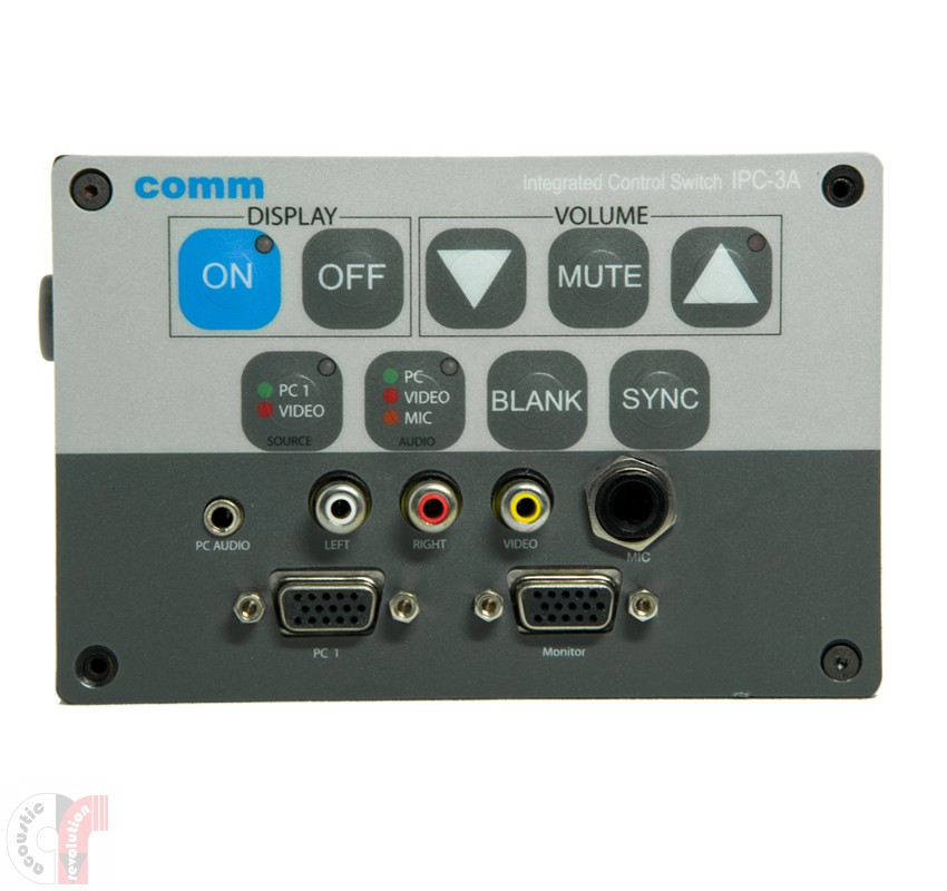 Comm WizarSwitch Controller - IPC-3A