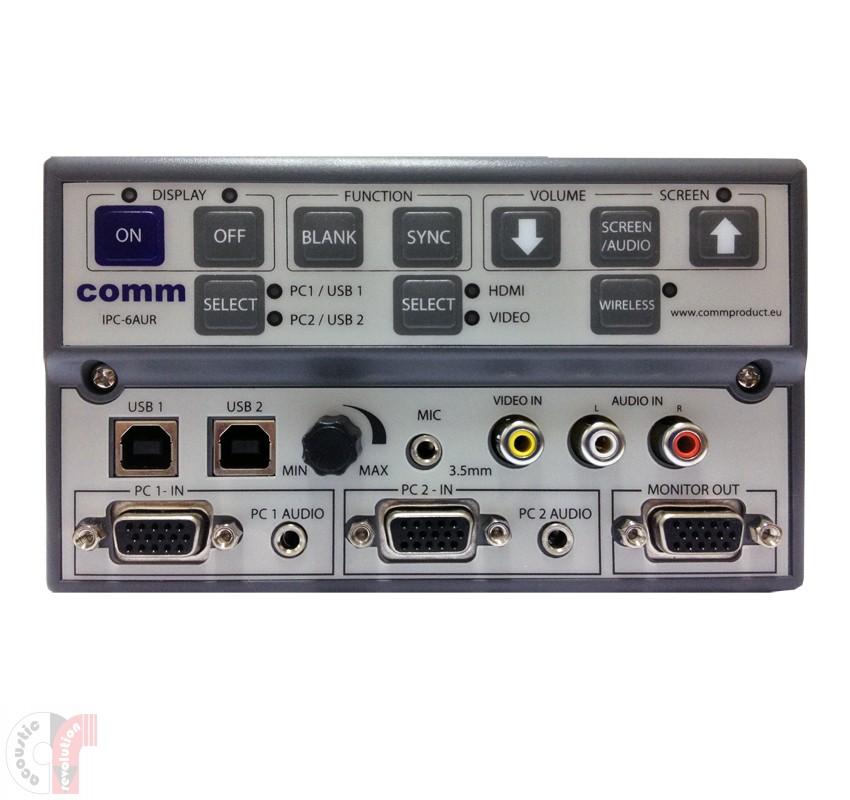 Comm WizarSwitch Controller - IPC-6AUR