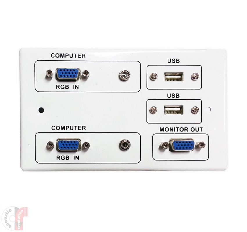 Comm AV Wall Plate Panel, CRP-5