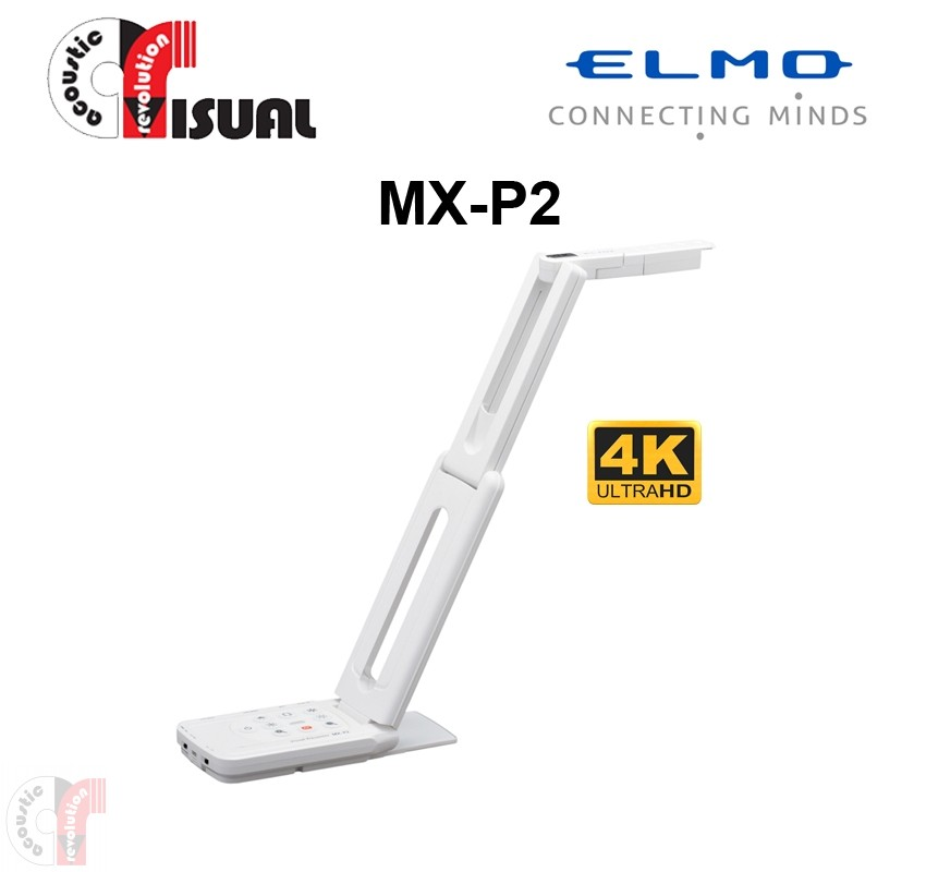 ELMO MX-P2 4K Portable Visualiser