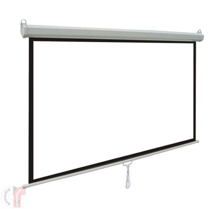 Comm Manual Pull-Down Wall Screen CP-MA8443 (4x3)