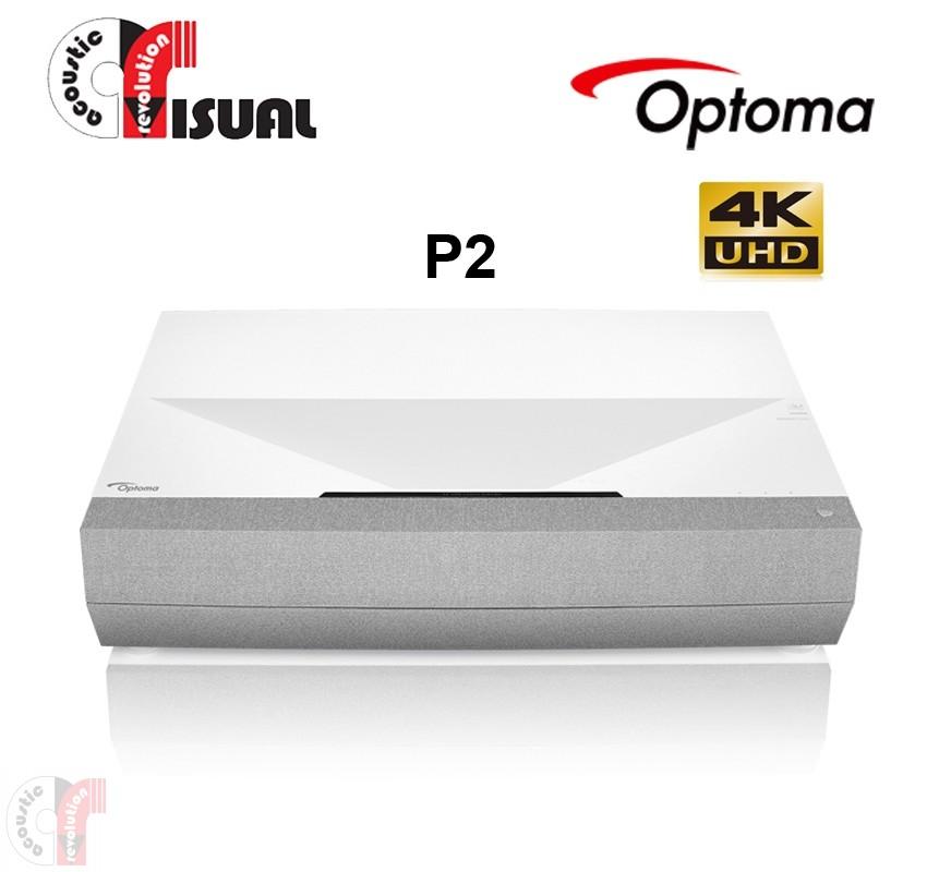 NEW - Optoma P2 4K UHD HDR Laser Cinema Projector