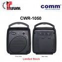 Comm Portable PA Amplifier - CWR-1050 (Limited Stock)