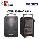 Comm Dual Channel PA Amplifier - CWR-102+CW5-H