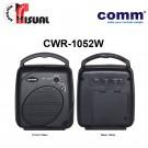 Comm Portable PA Amplifier - CWR-1052W+CW5-H