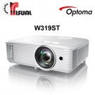 Optoma W319ST WXGA Short-Throw DLP Projector