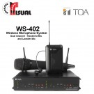 TOA Dual Channel Microphone System WS-402