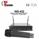 TOA Dual Channel Microphone System WS-422