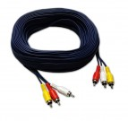 Comm RCA Cable, Both Sides Molded, 20m